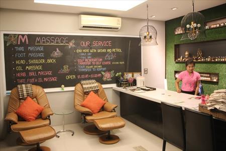 チェンマイのニマンヘミンエリアに新規オープンしたマッサージ店