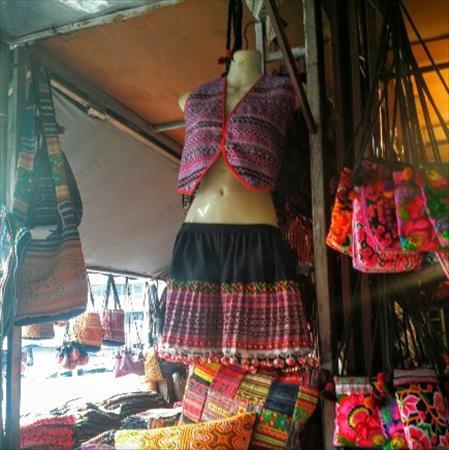 チェンマイのモン族市場