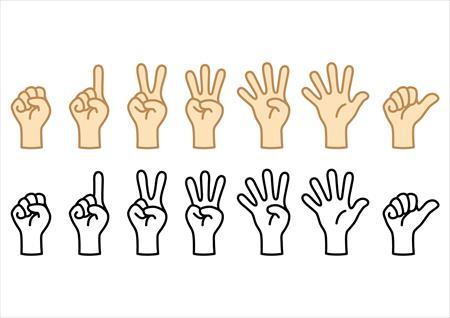 タイの方々は計算するのに指を使う?