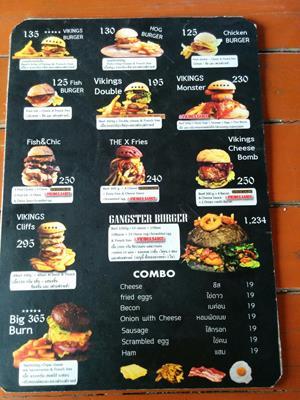 タイのチェンマイで美味しいハンバーガーが食べたい方にオススメ!クロコダイルバーガーもあるお店紹介