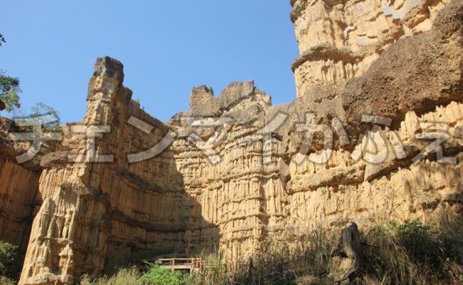 チェンマイ近郊旅!【パーチョー】メーワン国立公園内にある断崖絶壁を見る旅