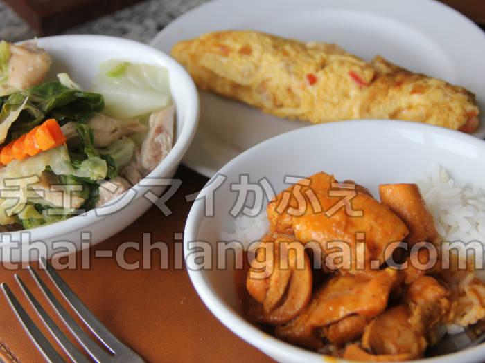 タイのチェンマイのホテル!ナイトバザール地区で立地と朝食重視の方にオススメのドゥアンタワンホテル 朝食