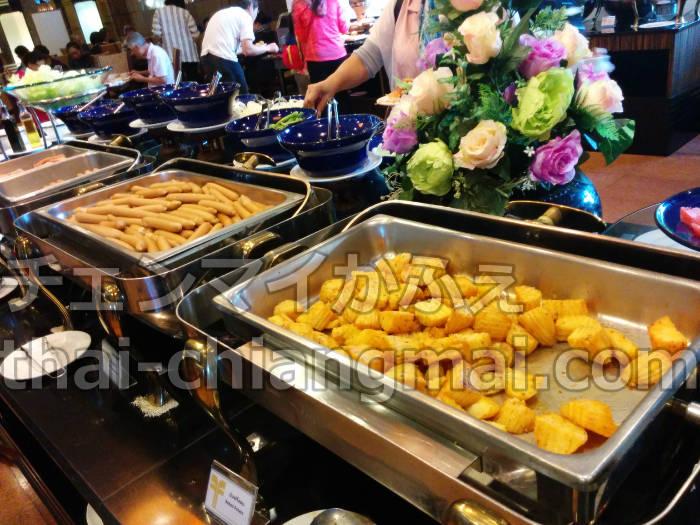 チェンマイのニマンヘミンエリアのおすすめホテル!フラマホテルチェンマイの朝食ビュッフェ