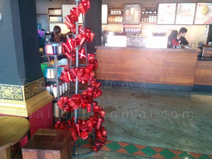 【タイのスタバのタンブラー】クリスマスバージョン2017!クリスマス限定ドリンクも♪