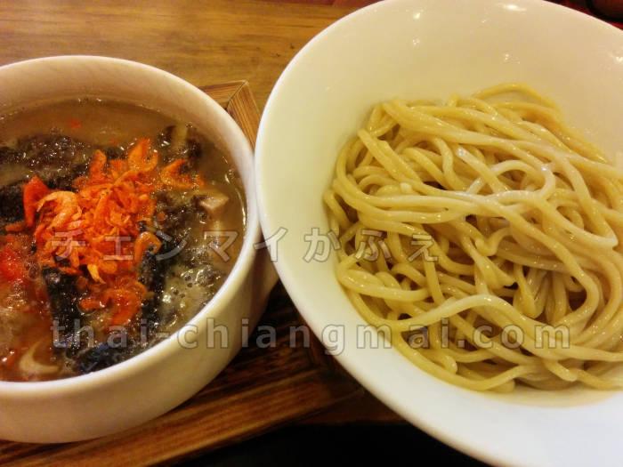タイのチェンマイでつけ麺を食べたいなら絶対ここ!「つけ麺55」inプロムナーダ エビつけ麺